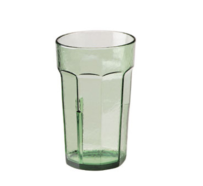 Cambro LT8427 8-oz Laguna Fluted Tumbler - Spanish Green