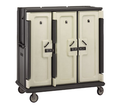 "Cambro MDC1520T30191 Meal Delivery Cart - Holds (30)15x20"" Trays, Gra"