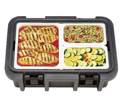 Cambro UPC160110 20-qt Camcarrier Ultra Pan Carrier - (1)Full Size Pan, Black