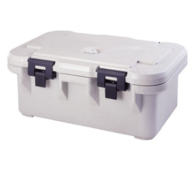 Cambro UPCS160110 20-qt S-Series Pancarrier - Top Loading, Black