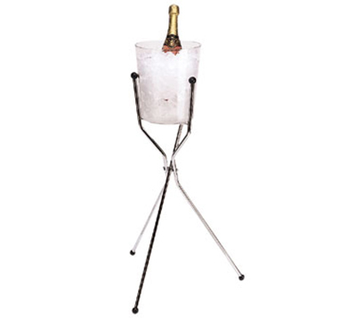 Cambro WCS30136 Wine Bucket Stand - Chrome