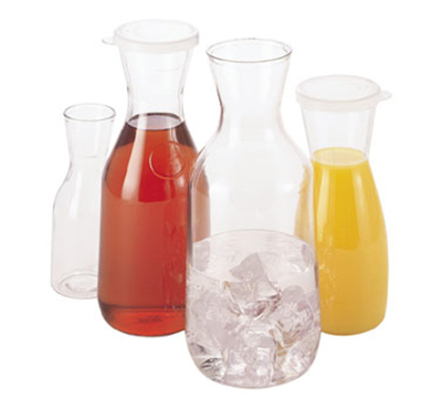 Cambro WW1000CW135 1-L Camliter Beverage Decanter - Clear