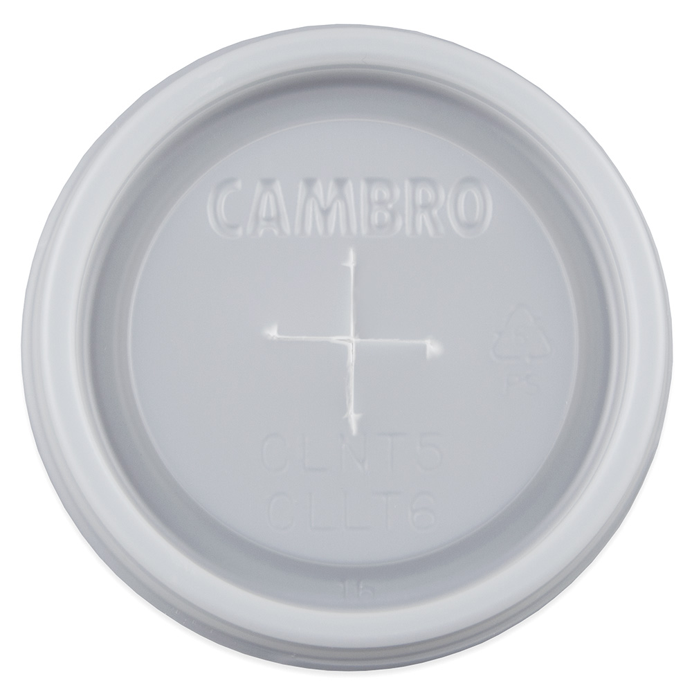 Cambro CLLT6-190 Disposable Lid for Laguna Tumbler LT6 Restaurant Supply