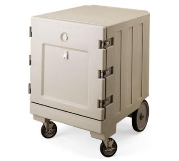 Cambro CMB1826LSP180 Combo Cart w/ Security Hardware, 1/2 size, Gray