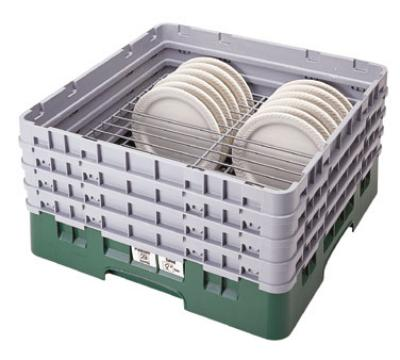 Cambro CRP2046414 Camrack PlateSafe Full Size Extender Fits 20 4 in-6 in Plates Teal Restaurant Supply