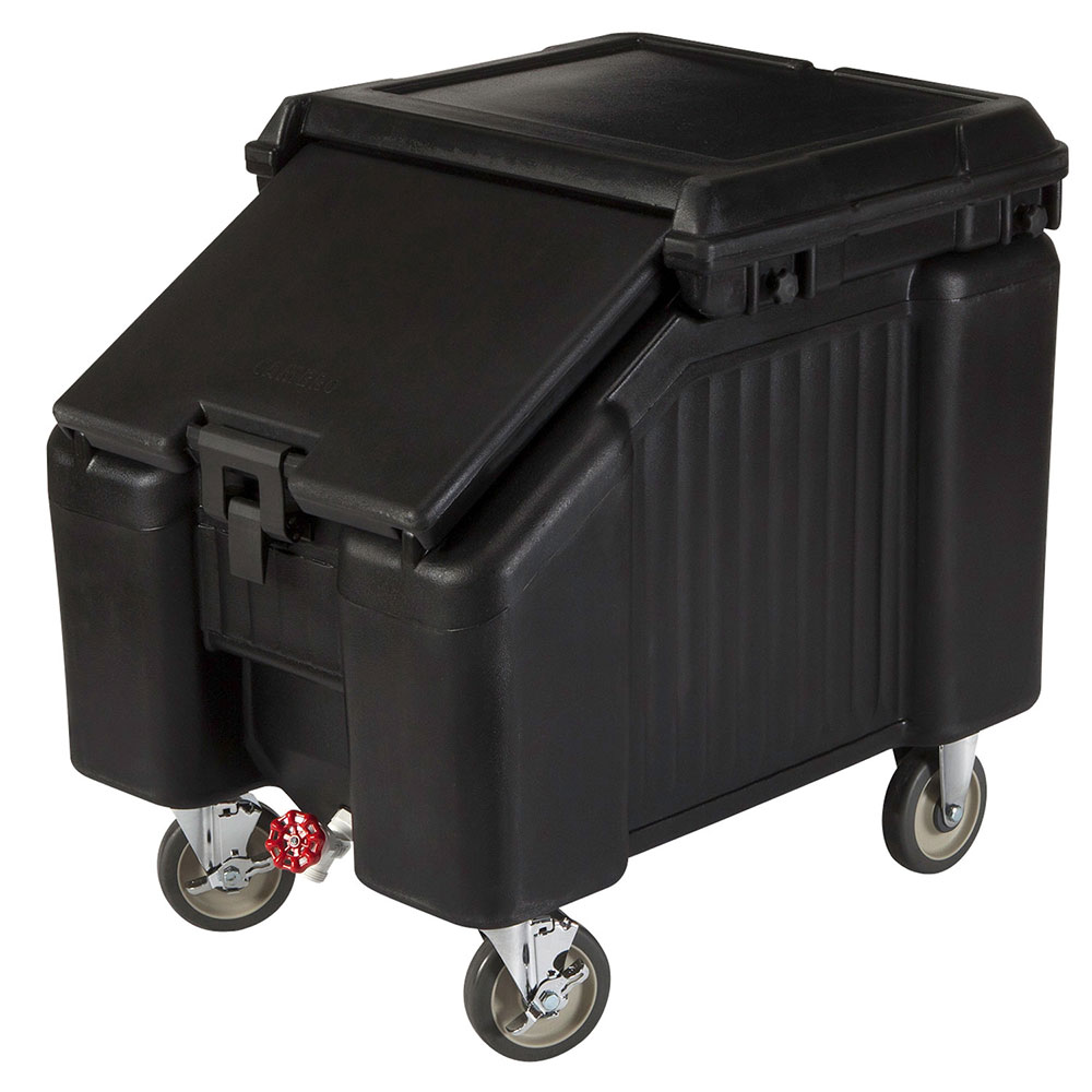 """Cambro ICS100L110 100-lb Ice Caddy- Lift Up, Slant Top, 28.75"""" H"""