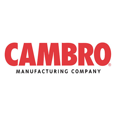 Cambro VCS32R191 Versa Cart Tray Rail - Granite Gray