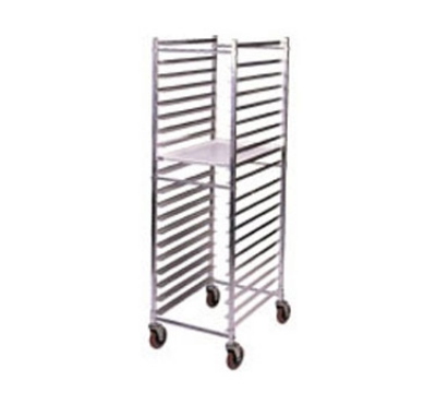 Win-Holt ADE1812B/KDA Mobile Pan Rack w/ Swivel Casters, Holds 12-