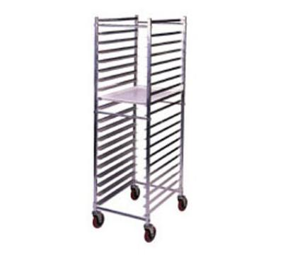 Win-Holt AL1820HD Pan Rack, Mobile, Full Height, Open Sides, Heavy Duty