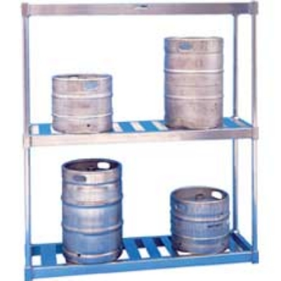 Win-Holt BKR-54/E 54-in Keg Rack w/ 6-Keg Capacity