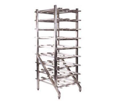 Win-Holt CR162 Can Storage Rack, Stationary, Gravity Shelves, (162) #10 Cans, NSF