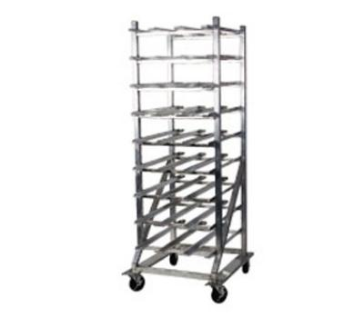 Win-Holt CR162M Mobile Can Storage Rack w/ Gravity Shelves, (162) #10-Cans, NSF