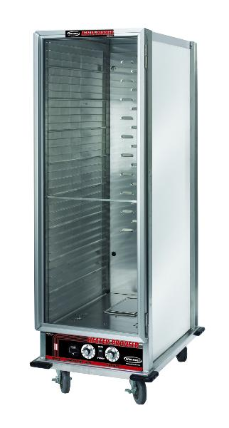 Win-Holt NHPL-1836 Heater-Proofer Mobile Cabinet, Angle Slides, 36-Full Pans