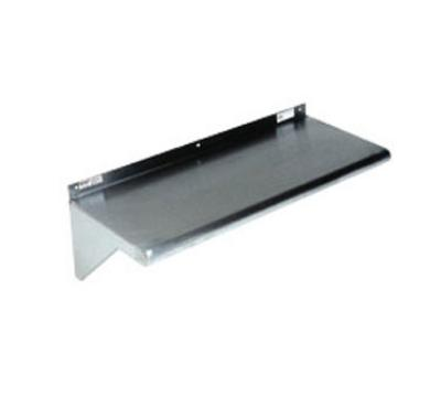 Win-Holt SSWMS125/KD 60-in Stainless Wall Mounted Shelf, 12-in Wide