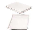Win-Holt WHP-1826WH Display Tray, Heay Duty Plastic, 18 in x 26 in x 1 in Deep, NSF, White