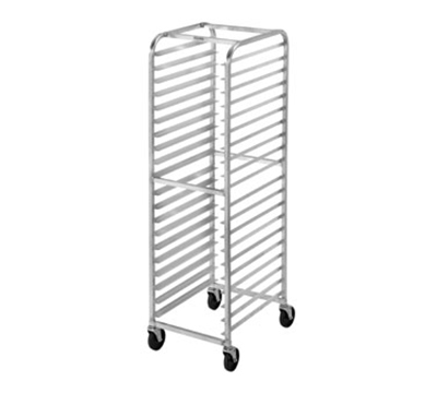 Channel 401AC Economy Front Loading Bun Pan Rack w/ 20-Pan Capacity & 3-in Spacing, Aluminum