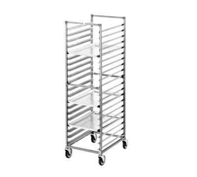 Channel 402S Standard Front Loading Bun Pan Rack w/ 15-Pan Capacity & 4-in Spacing, Stainless