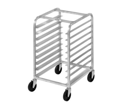 Channel 427A Front Loading Bun Pan Rack w/ 5-Pan Capacity & 5-in Spacing, Half Height, Aluminum