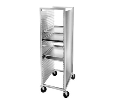 Channel 620 Front Loading Bun Pan Rack w/ 40-Pan Capacity & 1.5-in Spacing, Aluminum