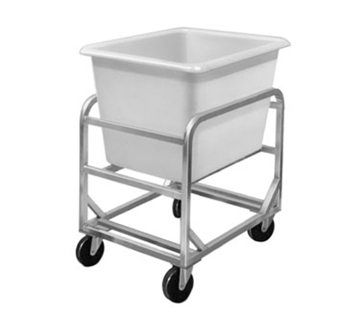 Channel 8ABC Bulk Poly Cart w/ 8-Bushel Lug, Aluminum