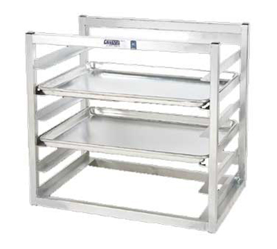 Channel AWM5 Wall Mounted Sheet Pan Rack w/ 5-Pan Capacity & 3-in Spacing, Aluminum