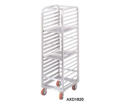 Channel AXD1812 Front Loading Bun Pan Rack w/ 12-Pan Capacity & 5-in Spacing, Heavy Duty, Aluminum