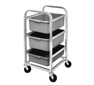 Channel BBC-3 Bus Box Cart w/ 3-Shelf & 7-in Spacing, Alumi