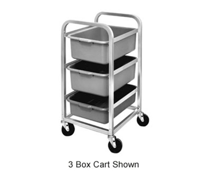 Channel BBC-6 Bus Box Cart w/ 6-Shelf & 7-in Spacing, Alu