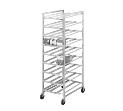 Channel CSR-9M 82-in Mobile Can Storage Rack w/ 162-Can Capacity, Alum