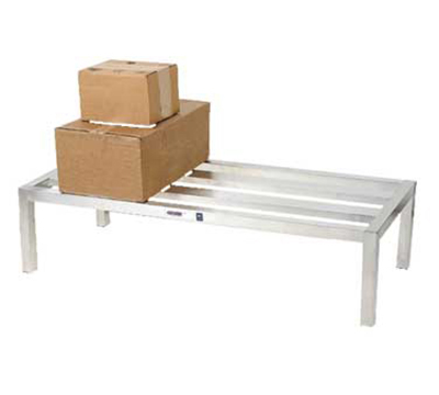 Channel HD2448 12-in Dunnage Rack, 24x48-in, Aluminum