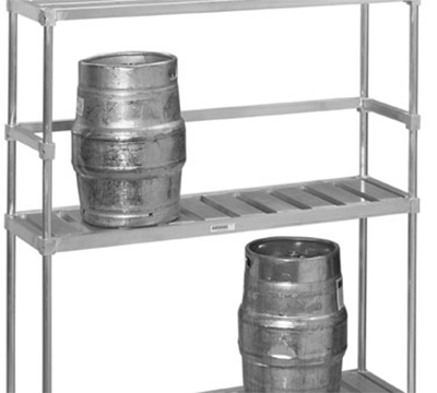 Channel KS193 93-in Back Stop For Keg Storage Rack