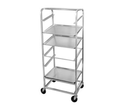 Channel SRS-7 Slanted Display Rack w/ 7-Tray Capacity & 8.75-in Spacing, Side Loading, Aluminum