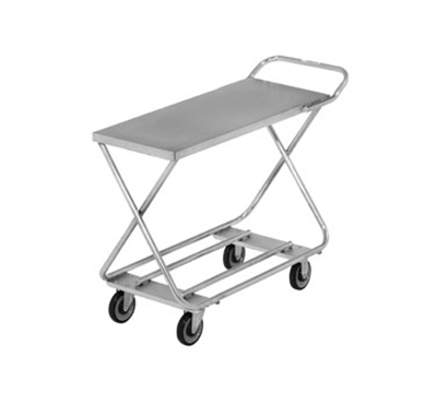 Channel STKG100H 34-in Mobile Stocking Cart w/ Handle, 19x46-in, Steel