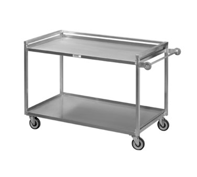Channel TDC2953A-2 Tray Delivery Truck w/ Push Handle, 53x29-in, Aluminum