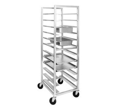 Channel UTR-12 70-in Universal Rack w/ 12-Pan Capacity & 5-in Spacing, Aluminum