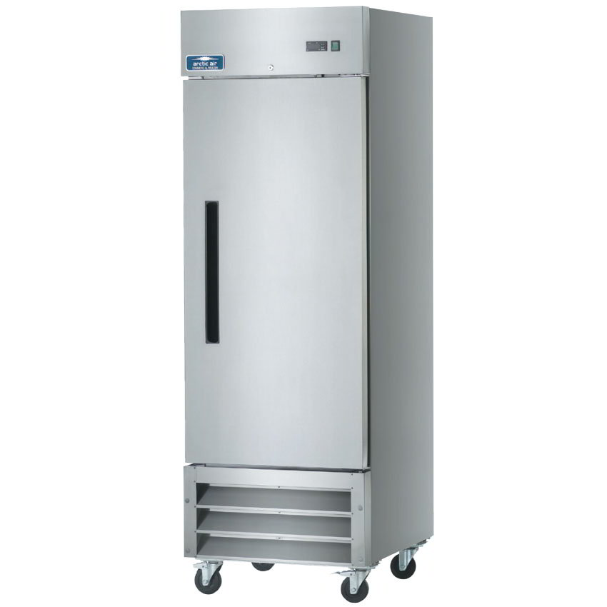 "Arctic Air AR23 27"" Reach-In Refrigerator - 1-Solid Door, Stainless/Aluminum"