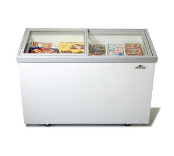 Arctic Air ST15G Chest Freezer, 14.8 cu ft, +10 F to -10 F, Sliding Glass Doors