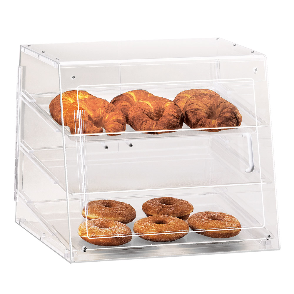 Cal-Mil 1011-S Self Serve Pastry Display Case w/ Slant Front, 19.5 x 17 x 16.5-in