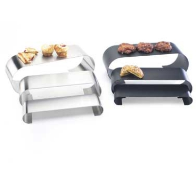Cal-Mil 1433-55 Curl Riser Set, 3-in, 4-in & 6-in, Stainless