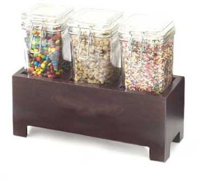 Cal-Mil 1550-7-52 Jar Display, 12 x 4.25 x 7-in, BPA Free