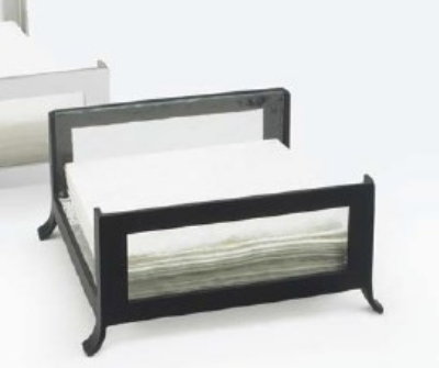 Cal-Mil 1587-43 Napkin Holder w/ Faux & Black Frame, Holds 5-in Square Napkins