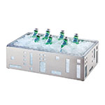 Cal-Mil 1603-12-55 Squared Ice Housing, 21 x 12.5 x 6.5-in, Stainless