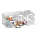 Cal-Mil 287 13-in Topping Dispenser w/ Notched Drawers, BPA Free, Clear