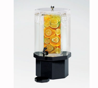 Cal-Mil 972-2-17INF 2-Gallon Beverage Dispenser w/ Infusion Chamber & Charcoal Base