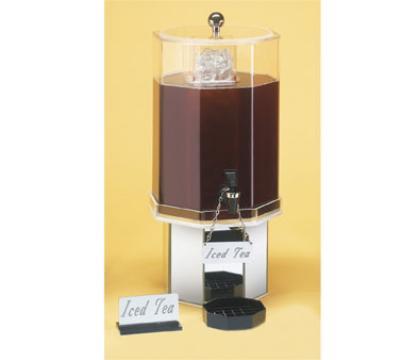 Cal-Mil 972-2-24 Pacific Beverage Dispenser, Octagon, 2 Gallon, Ice Cha