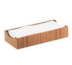 Cal-Mil 1234 Bamboo Condiment & Napkin Holder, 9.5 x 4.75 x 2-in High