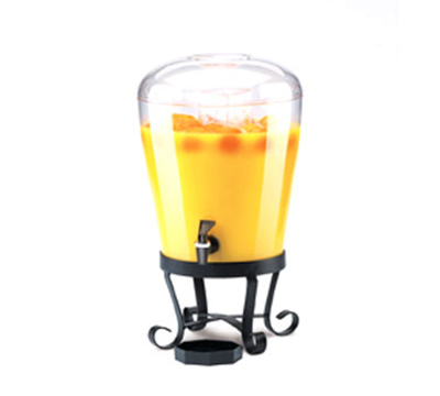 Cal-Mil 1610 3-Gallon Beverage Dispenser w/ Tapered Tank & 6-