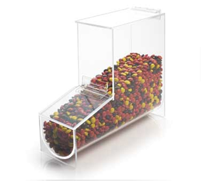 Cal-Mil 1737 Condiment & Toppings Bin, 4-1/8 x 12 x 11-in High