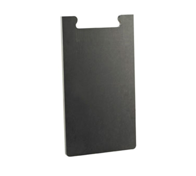 "Cal-Mil 2035-312-13 12"" Bread Board - Female End, Black"