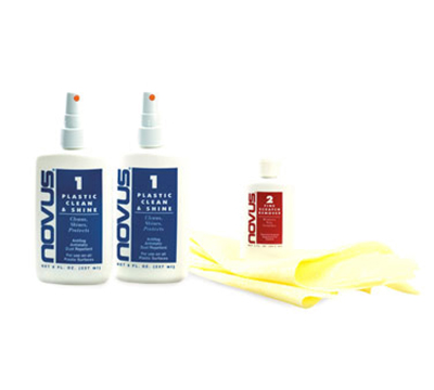Cal-Mil 218 Acrylic Display Cleaning Kit